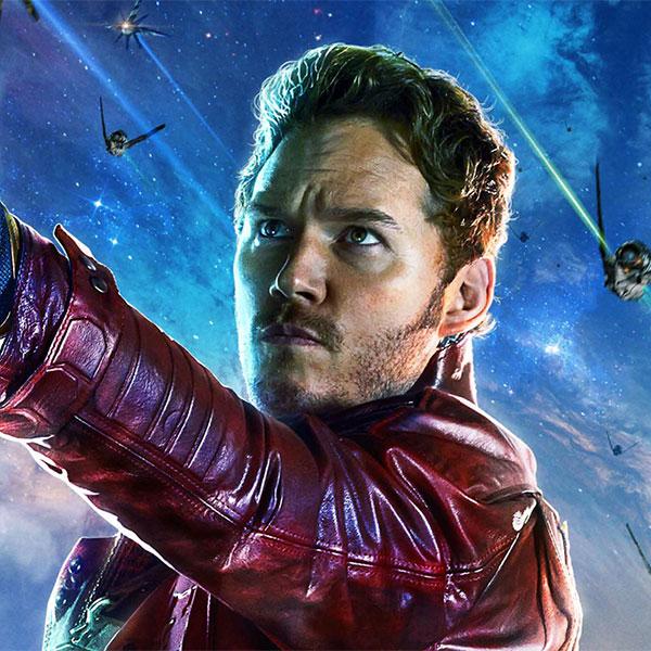 Peter Quill<br>Star-Lord by Chris Pratt