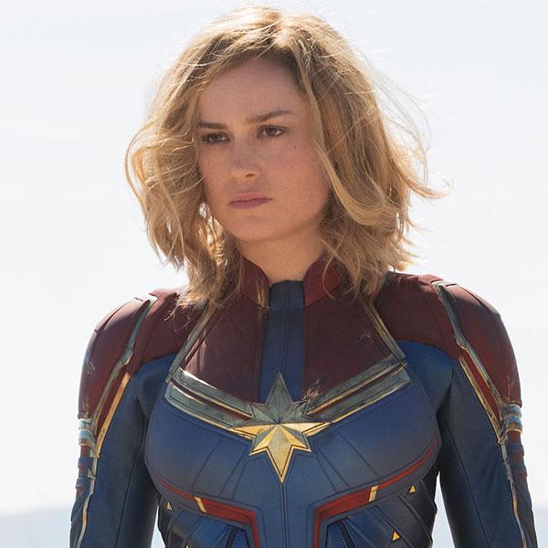 Carol Danvers<br>Captain Marvel by Brie Larson