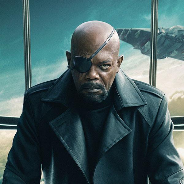 Nick Fury by Samuel L. Jackson