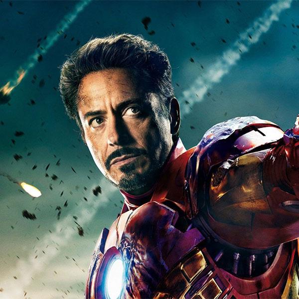 Tony Stark<br>Iron Man by Robert Downey Jr.