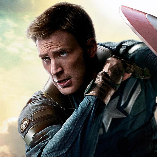 Steve Rogers<br>Captain America by Chris Evans