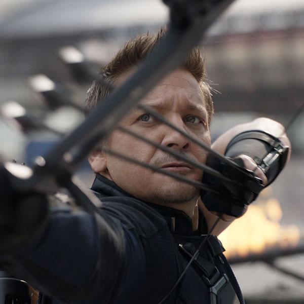 Clint Barton<br>Hawkeye by Jeremy Renner