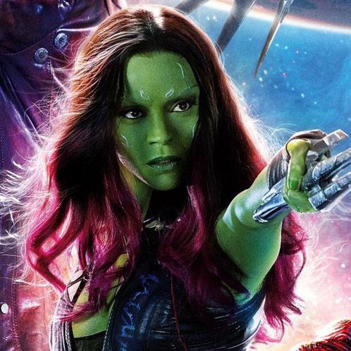 Gamora by Zoe Saldana