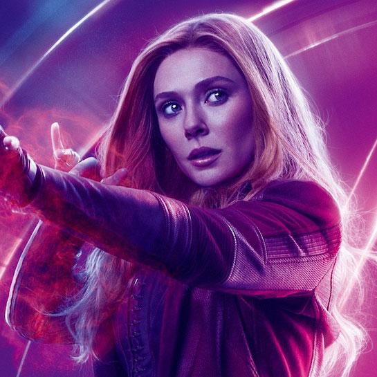 Wanda Maximoff<br>Scarlet Witch by Elizabeth Olsen