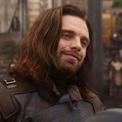 Bucky Barnes<br>Winter Soldier by Sebastian Stan