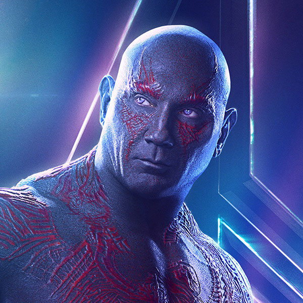 Drax by Dave Bautista
