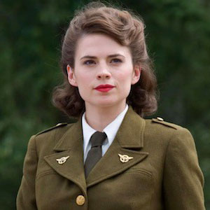 Peggy Carter by Hayley Atwell