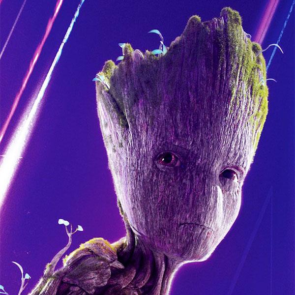 Groot (voice) by Vin Diesel