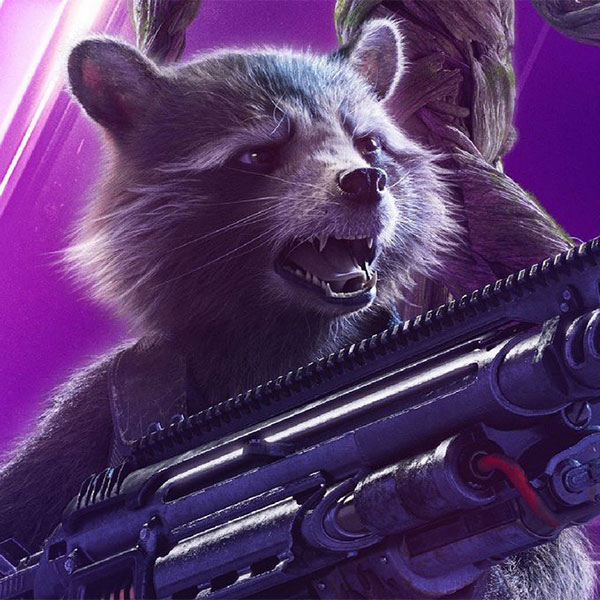 Rocket (voice) by Bradley Cooper